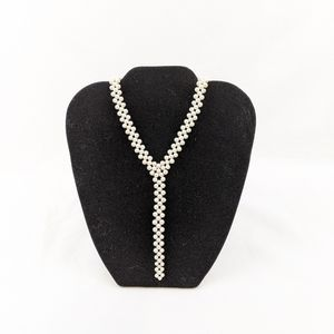 Jewelry - Authentic Cultured Pearl Lariat Necklace